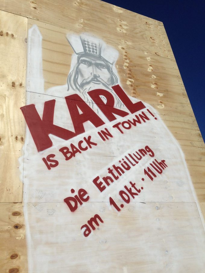 Karl is back …